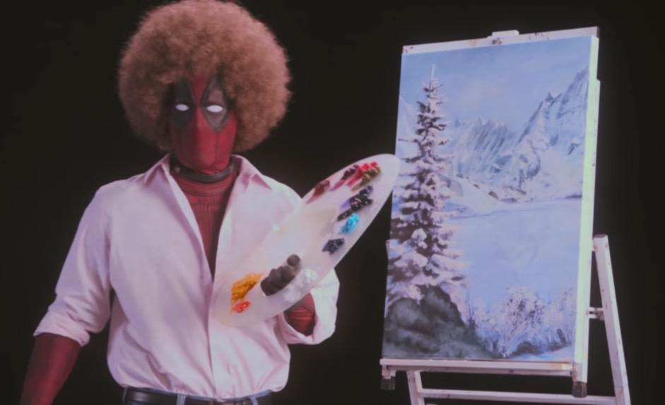 A la Bob Ross, Deadpool nos presenta primer teaser de 'Deadpool 2'