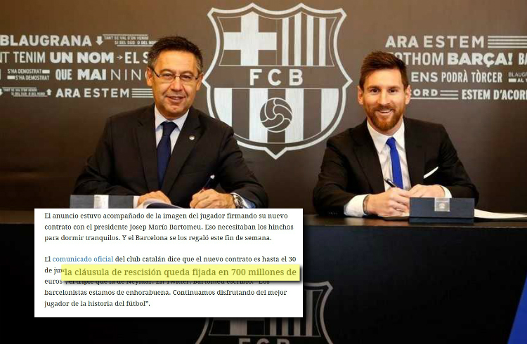 Messi regresa a Barcelona