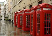 Cabina Roja Teléfono