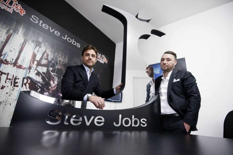 Una compañía de ropa italiana se llamará Steve Jobs