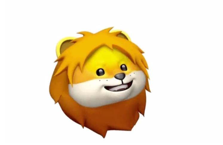 Apple-Animoji-Lion