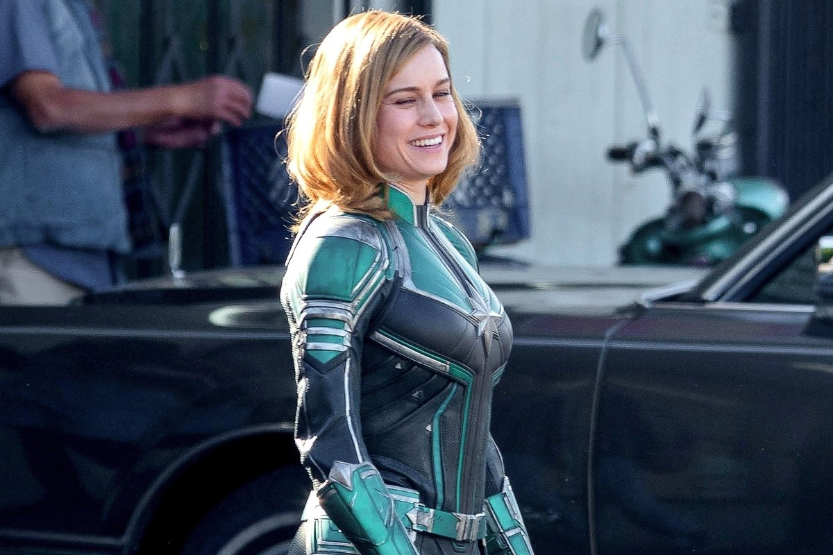 Captain Marvel-Brie Larson-Page Six