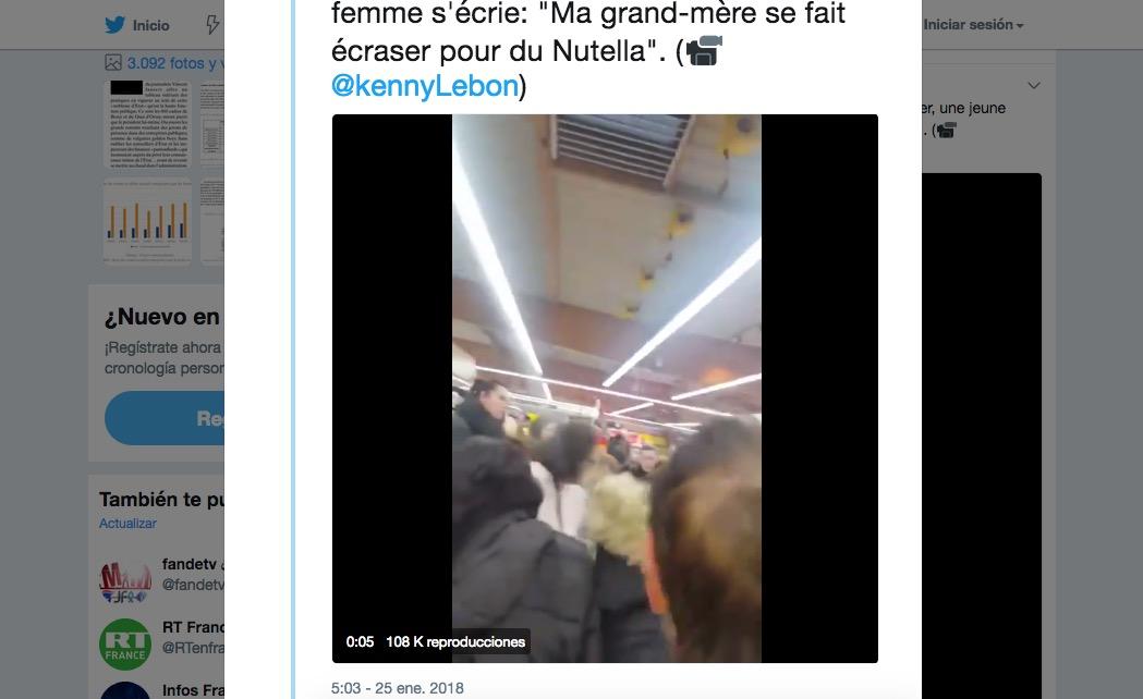 Un especial de Nutella provoca peleas en supermercados de Francia