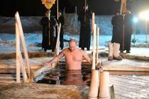 Putin agua helada