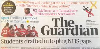 The Guardian impreso