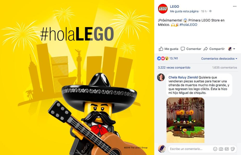 México tendrá una Lego Store