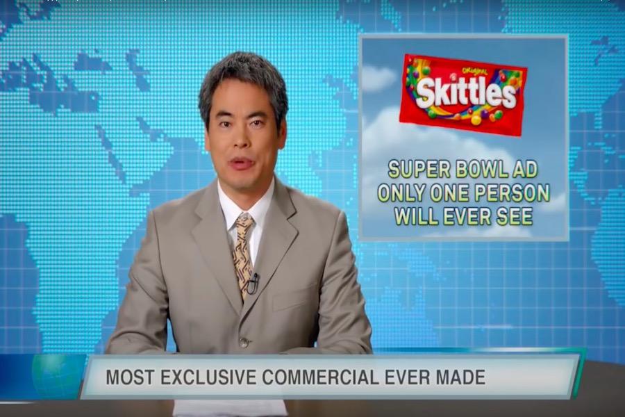 Solo una persona podrá ver el anuncio de Skittles durante el Super Bowl