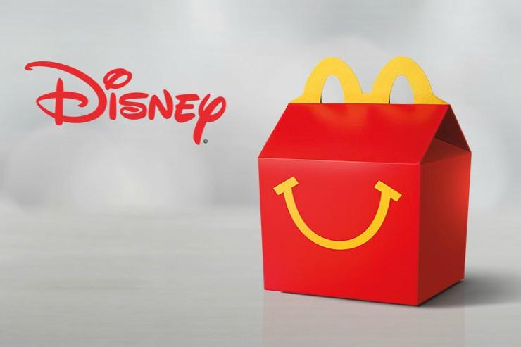 Disney regresará a la cajita feliz de McDonald's