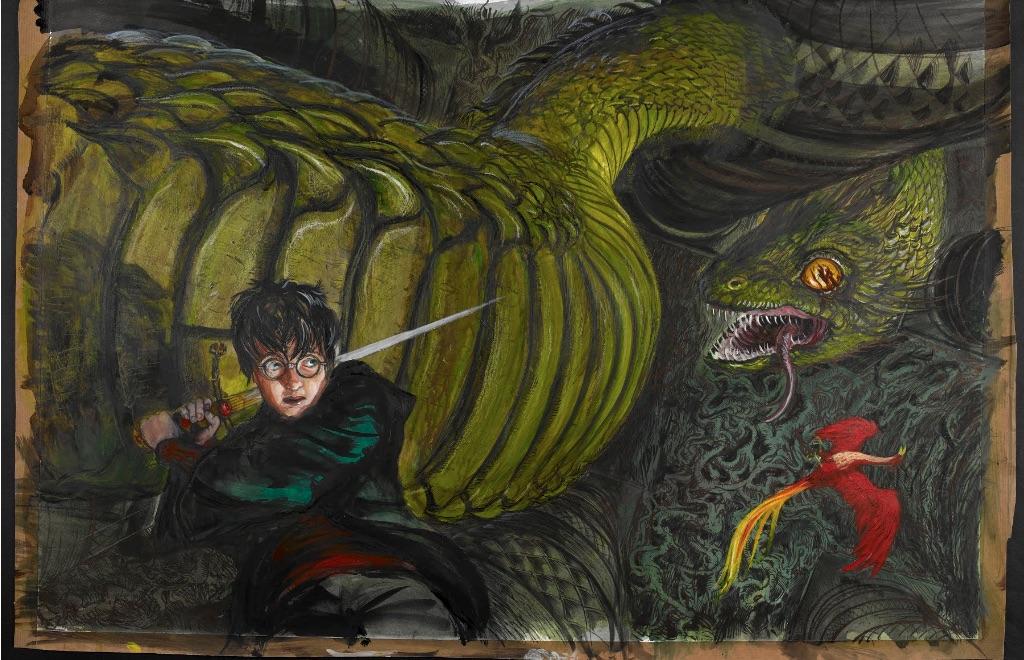 Harry Potter- A History of Magic-Google