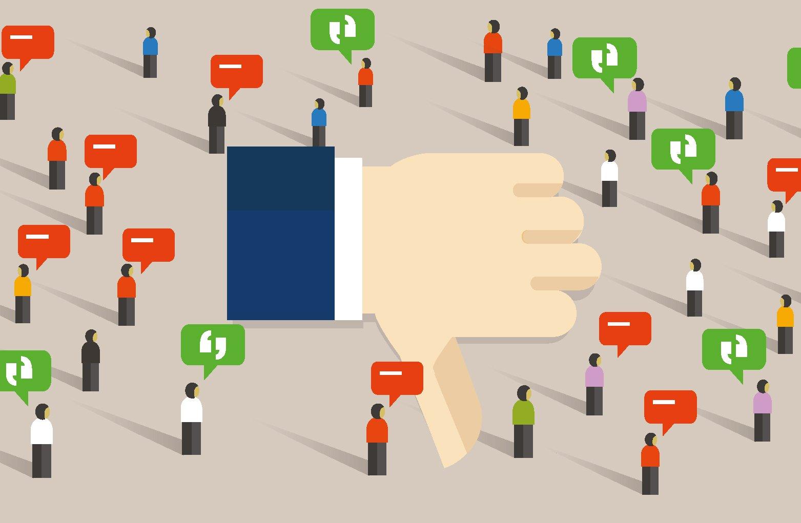 Formas más comunes de fallar al gestionar la reputación online
