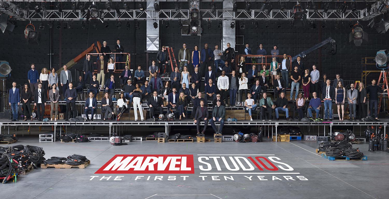 Así fue la celebración por sus 10 años — Marvel Studios