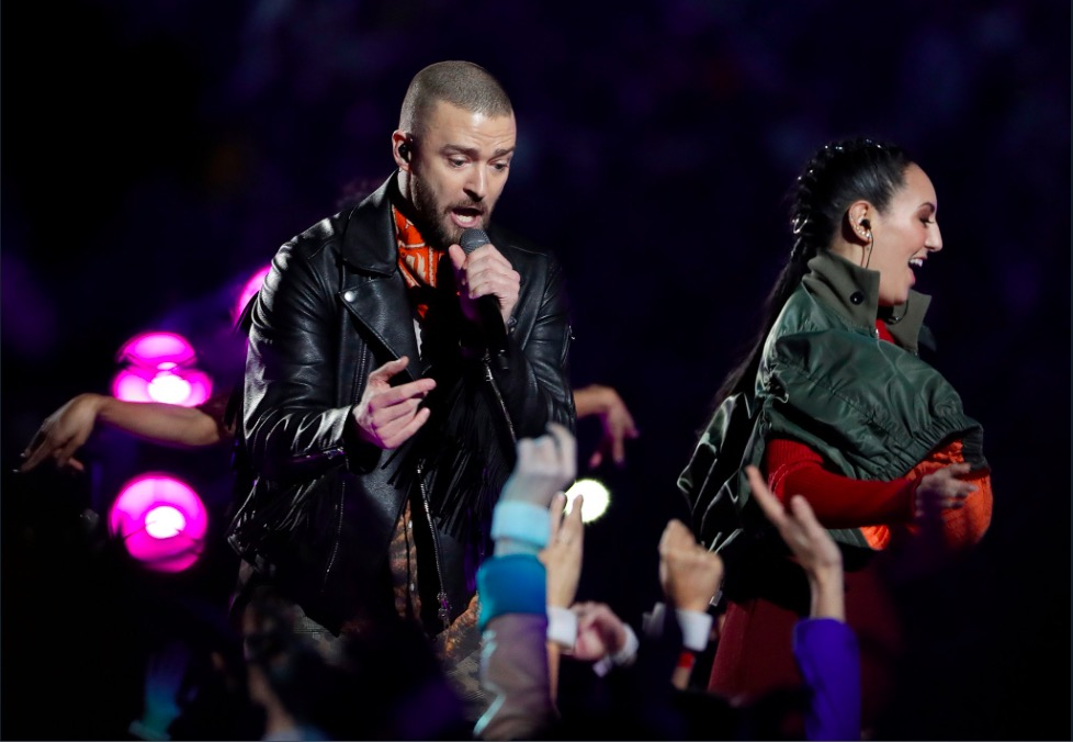 c1d60d465d65c Justin Timberlake genera más de 6 millones impresiones durante el Super Bowl  y Nike es la marca ganadora