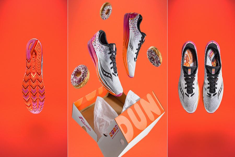 Dunkin' Donuts lanza su propia línea de tenis para