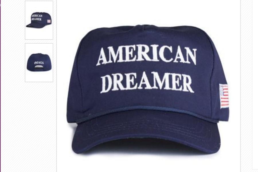 Vende Trump gorra para