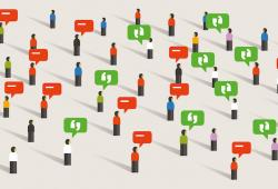 ¿Qué se debe considerar al responder los comentarios en redes sociales?
