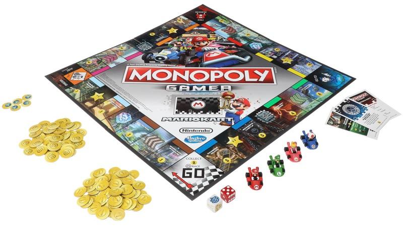Compite por Rainbow Road en la nueva Monopoly Gamer Mario Kart Edition