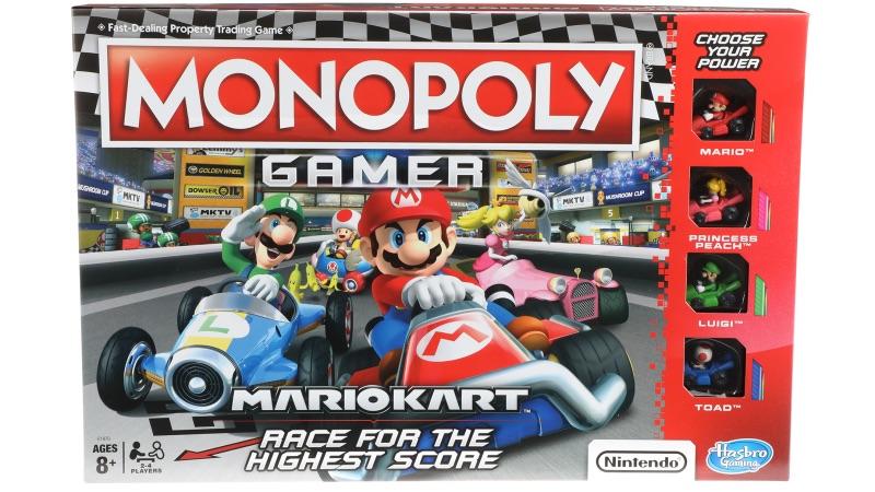 Mario Kart llega derrapando a Monopoly Gamer