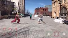 Street Fighter II-Realidad Aumentada