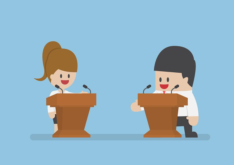 Debates presidenciales se transmitirán en televisión nacional y redes sociales