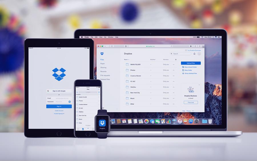 Dropbox avanza cerca del 40% en su debut bursátil en el Nasdaq