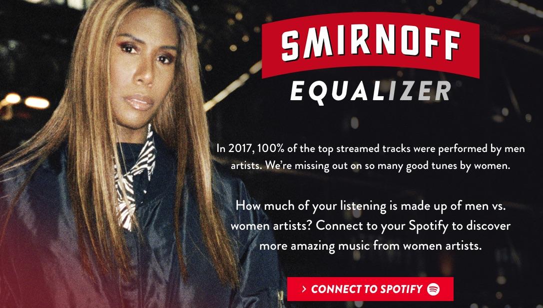 Spotify te dice si escuchas más música de hombres o mujeres