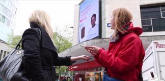 Donar sangre-realidad aumentada-NHS-Reino Unido