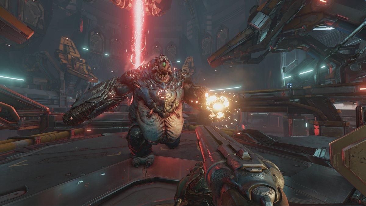 Doom 4K-Cine-Videojuego