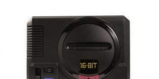 SEGA-Mega Drive-Genesis-Mini-16 bits