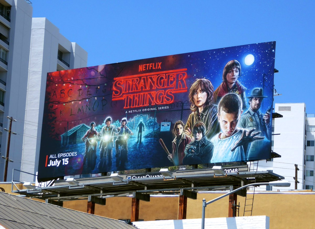 Stranger Things-Billboard-Netflix