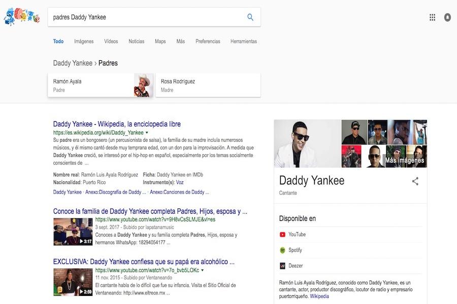 ¿Por qué Google dice que Ramón Ayala es papá de Daddy Yankee?