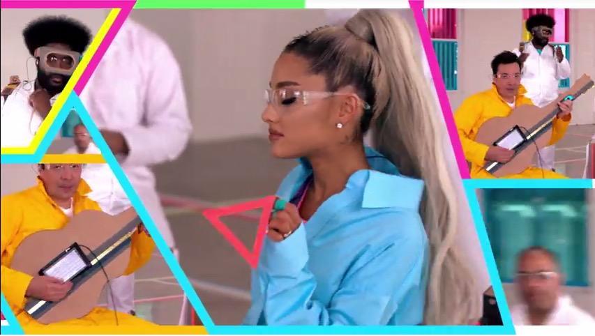 Ariana Grande-Jimmy Fallon-The Roots-Nintendo Labo-02