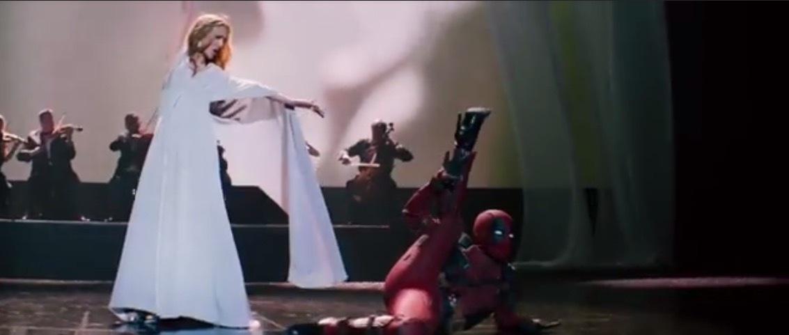 Deadpool 2-Celine Dion-Ashes