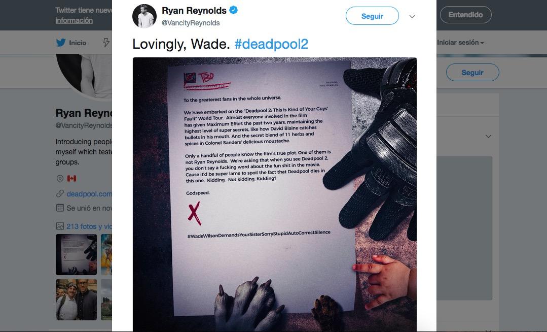 Deadpool 2-Ryan Reynolds-Avengers