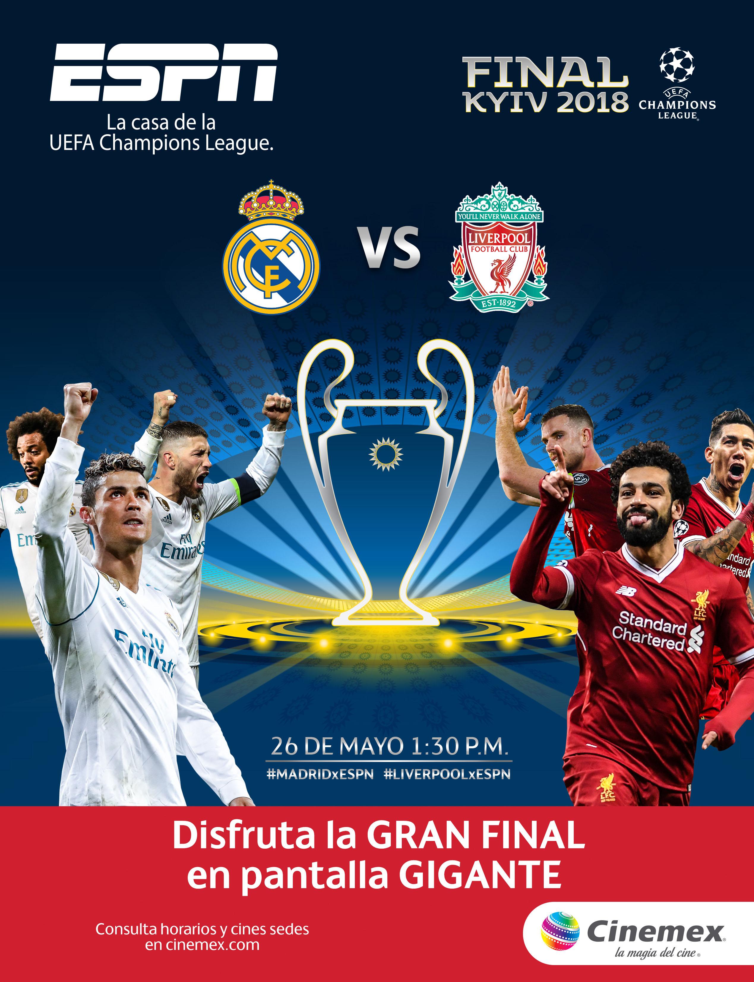 Final Champions League Cinemex