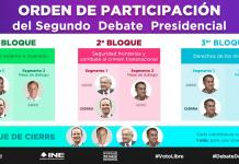 INE-Segundo Debate-Presidencial