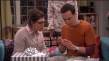 The Big Bang Theory-Gift From Stephen Hawking