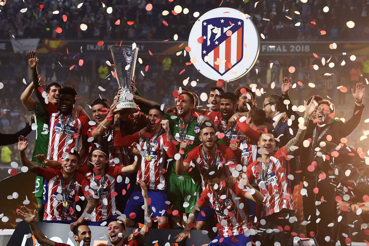 UEFA-Europa League-Atletico de Madrid