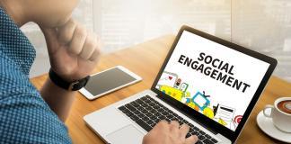 social, engagement, media