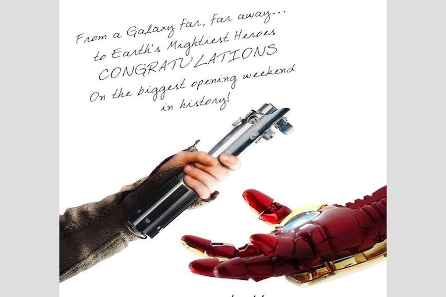Infinity War, la película más taquillera en la historia — Avengers