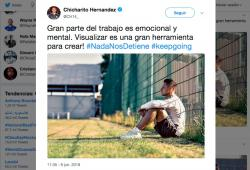 Chicharito Hernandez-Corona-Rusia 2018