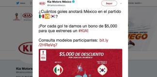 KIA-Mexico-Corea del Sur-Rusia 2018