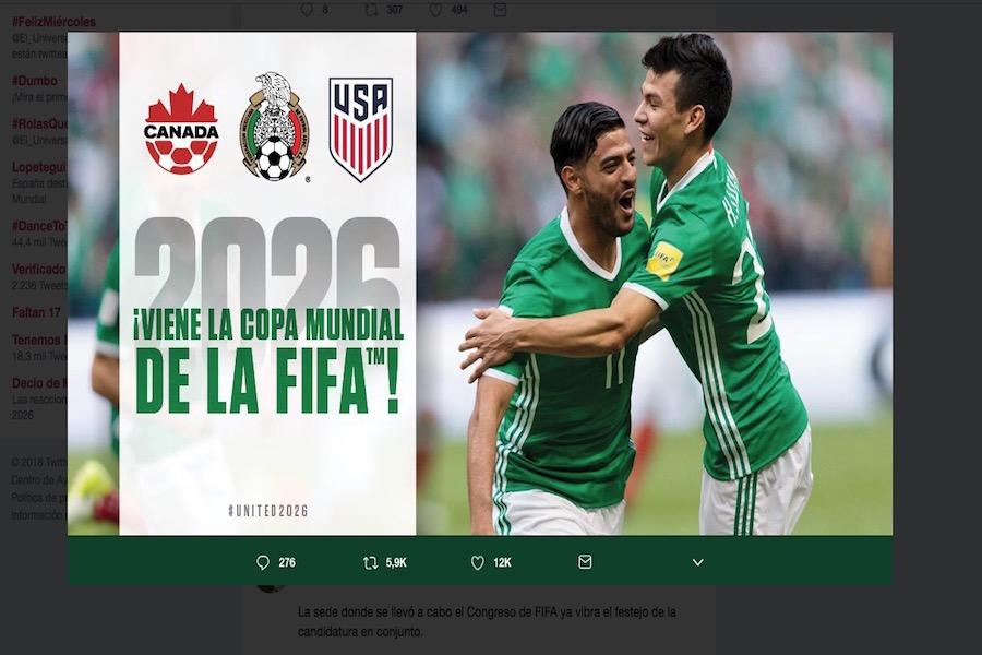 Proponen Liga de fútbol norteamericana tras mundial del 2026