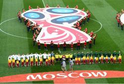 FIFA-Mundial-Rusia 2018-Mexico-Alemania-Ceremonia