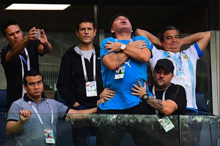 Rusia 2018 | FIFA sanciona a Diego Maradona y lo excluye como embajador