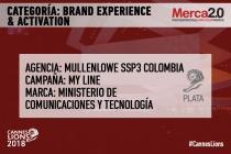 MullenLowe SSP3 Colombia arrasa y ahora se lleva plata en Brand Experience & Activation en Cannes Lions