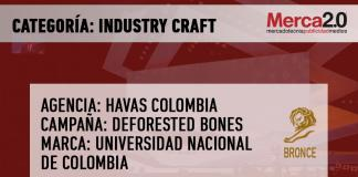premiacion INDUSTRY colombia BRONCE