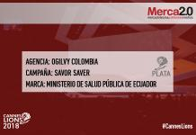 cannes premiacion PLATA OGILVY COLOMBIA