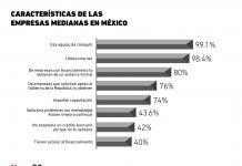 Características de las empresas medianas en México