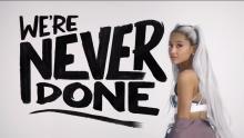 Ariana Grande-Be more human-Reebok