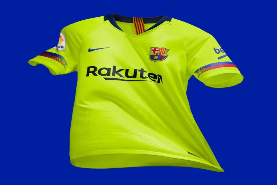 Barcelona presenta su segundo uniforme 7315bcf0c3915